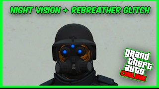NIGHT VISION, REBREATHER AND HELMET GLITCH 1.39 IN GTA ONLINE
