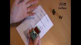 Обзор прибора для измерения ёмкости и ESR конденсаторов.