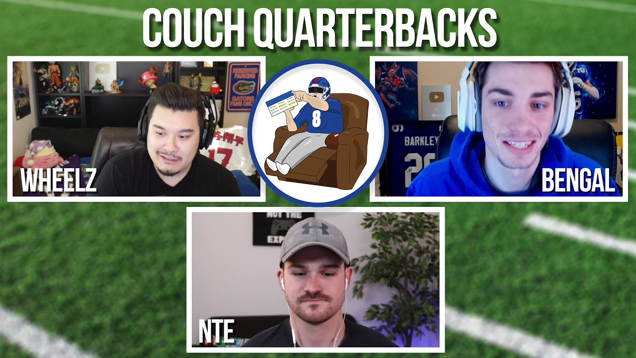 Download Couch Quarterbacks Ep.5 - (10/12/21)