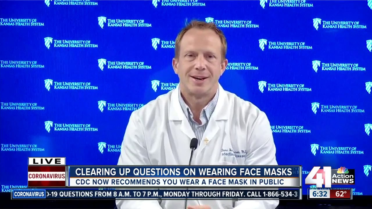 Clearing up questions on wearing face masks - 41 Action News