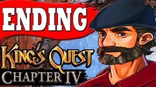"King's Quest Chapter 4 ENDING LOOKING FOR CLUES ""Snow Place Like Home Ending"""