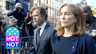 Felicity Huffman Leaves Court After Sentencing With Husband William H. Macy