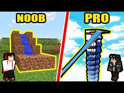 PARK WODNY NOOB VS PARK WODNY PRO - Minecraft
