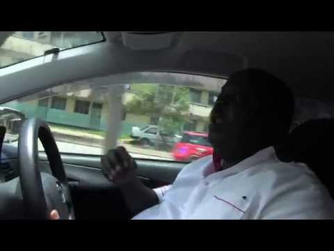Driving through Mombasa, Interview with Bishop Joseph Maweu!!