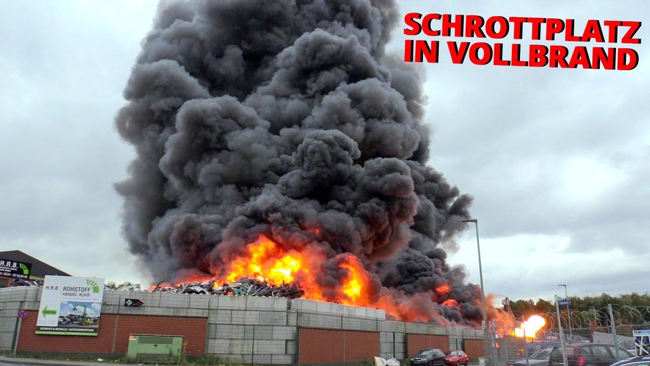 Großbrand Bochum