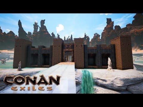 Conan Exiles - Castle Building Tutorial