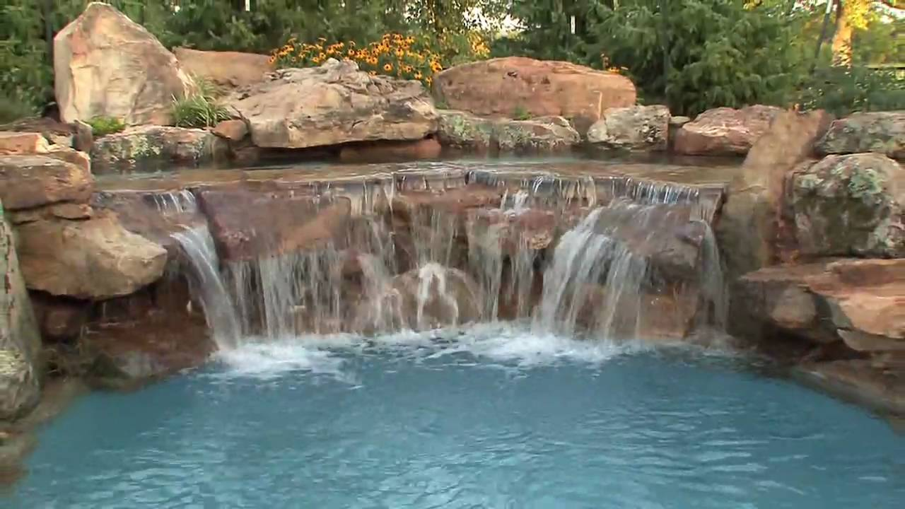 Luxury swimming pool by epic pools youtube for Luxury swimming pools