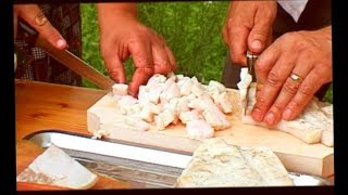 """""""AXE CHOPPING SAUSAGES"""" traditional recipe - ENGLISH - premium homemade sausages"""