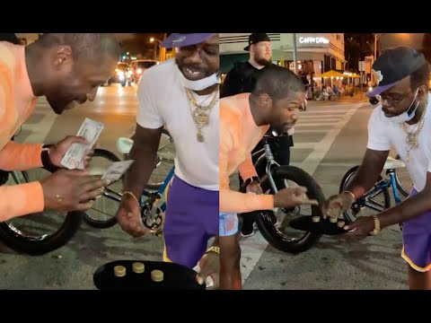 Floyd Mayweather Shuts Down Street Hustler Trying To Scam Him