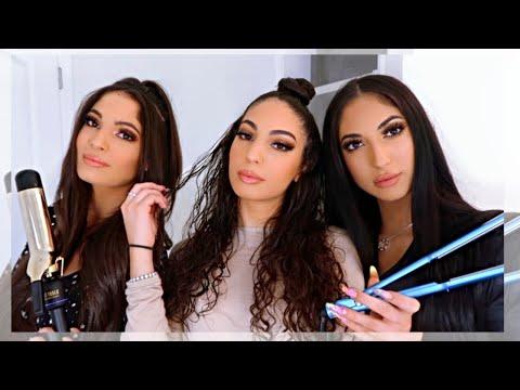 GRWM: DOING OUR HAIR! - Amna Jude Sarah