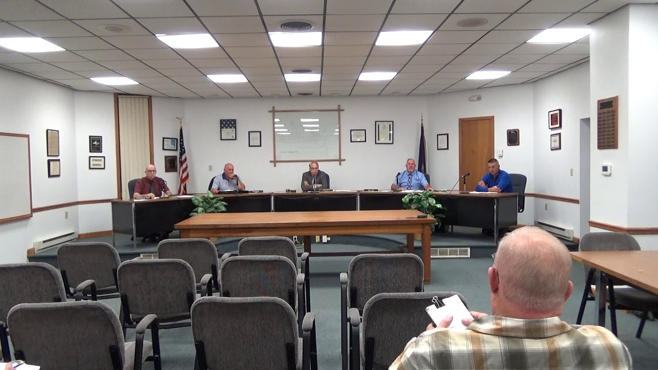 Rouses Point Village Board Meeting  9-16-18