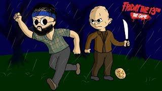 O NOVO PERSONAGEM Mitch Floyd - Friday the 13th The Game