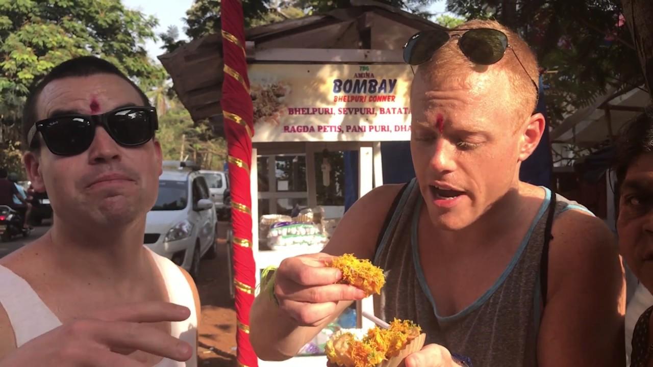 GOA INDIA 2 ?? TRYING SEVPURI STREET FOOD & BIZARRE BETEL LEAF CANDY [MASALA MITHA PAAN] Travel