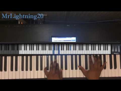 For My Good Byron Cage Piano Tutorial