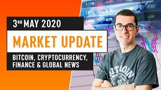 Bitcoin, Cryptocurrency, Finance & Global News - May 3rd 2020