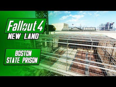 The BEST Prison Settlement - Boston State Prison - Fallout 4 Mods - New Land/Settlement
