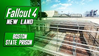 The BEST Prison Settlement - Boston State Prison - Fallout 4 Mods - New Land Settlement