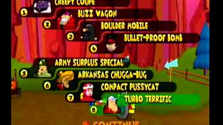 Wacky Races Gameplay