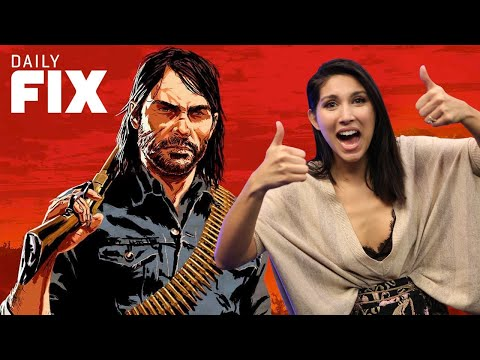 Red Dead 2's Explosive Launch Trailer - IGN Daily Fix