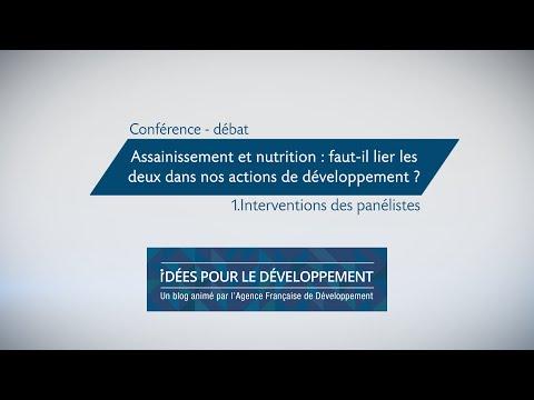 Assainissement et nutrition : faut-il lier les deux dans nos actions de développement ? part. 1/3