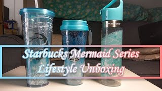 Starbucks Mermaid Series Lifestyle Unboxing | Mister Techs