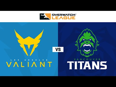 Vancouver Titans vs Los Angeles Valiant vod