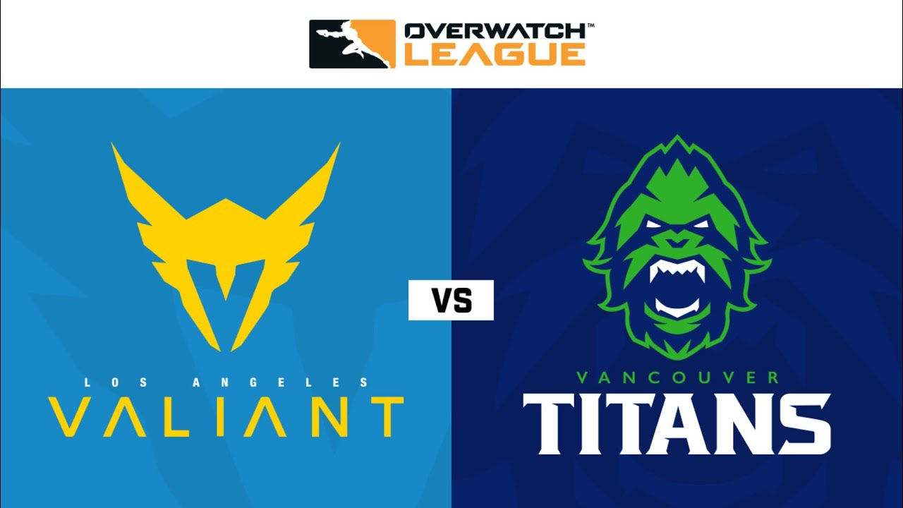 Los Angeles Valiant Vs Vancouver Titans Overwatch League 2020 Season Opening Weekend Day 2 Youtube