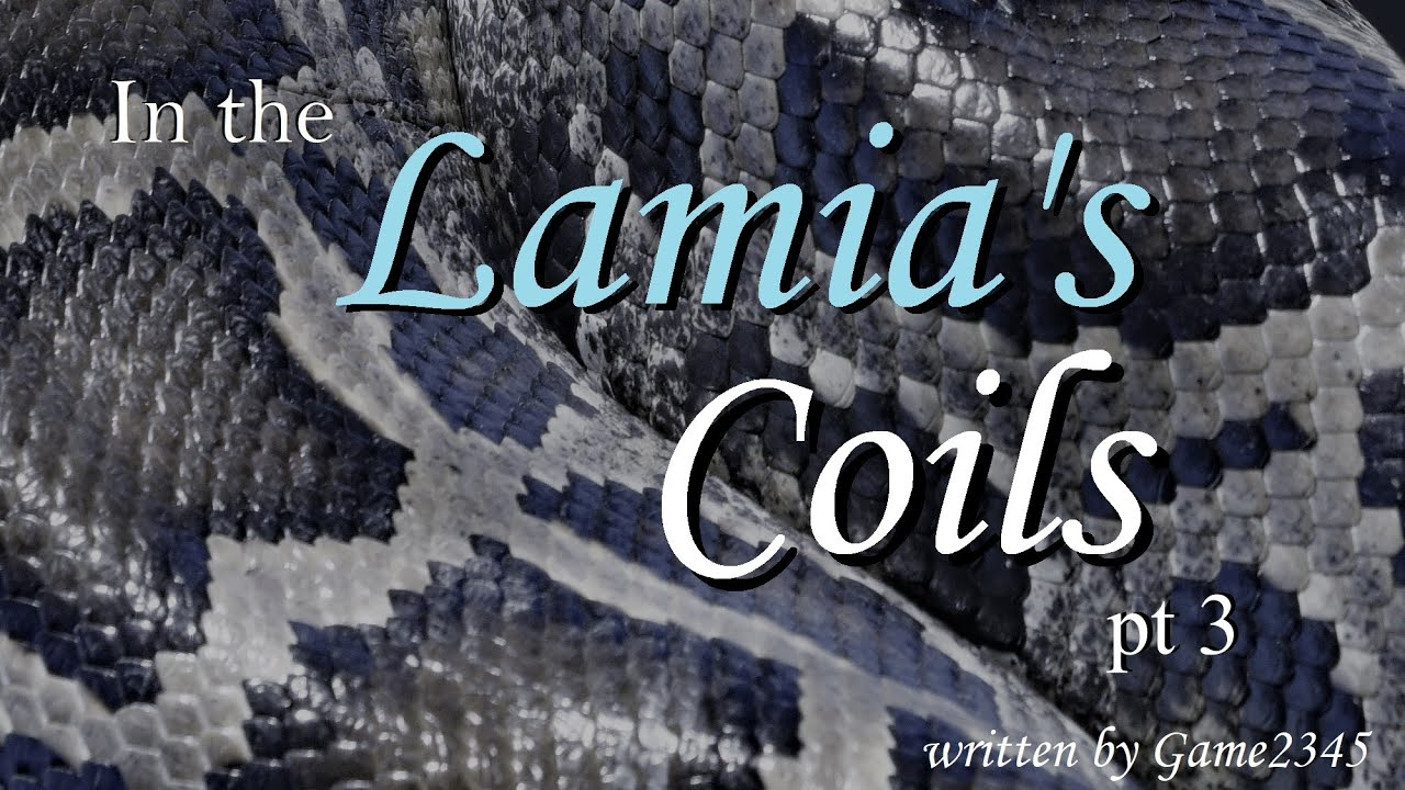 Cuddled In the Lamia's Coils ASMR Roleplay Pt 3 -- (Female x Male) (Binaural)
