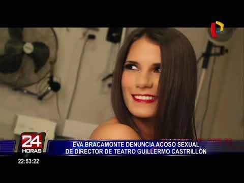 Eva Bracamonte denuncia acoso sexual de director teatral Guillermo Castrillón