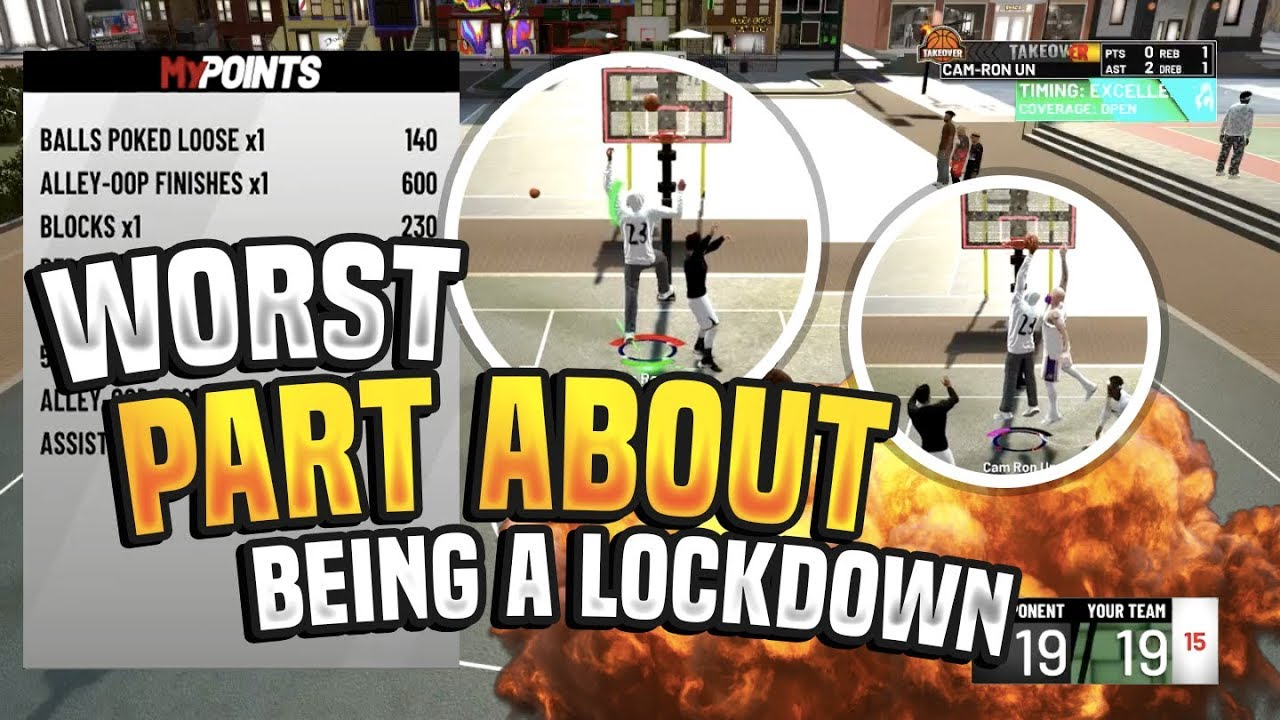 NBA 2K19 PURE LOCKDOWN DEFENDER!!! THINGS YOU NEED TO KNOW!!! WORST THING