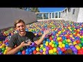 Hide And Seek In 200 000 Ball Pit On Our Rooftop mp3