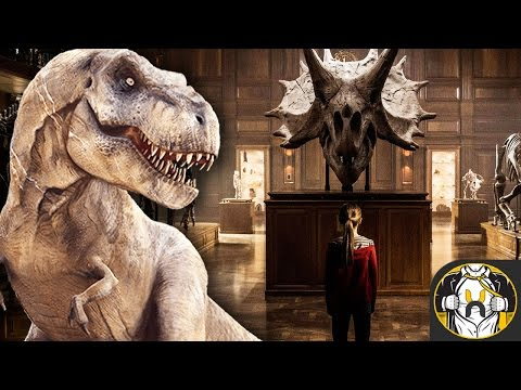 Jurassic World 2 First Official Image Reveals Dinosaur Museum