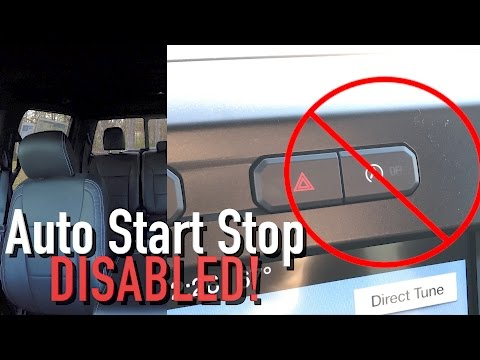 How to PERMANENTLY Disable Auto Start Stop