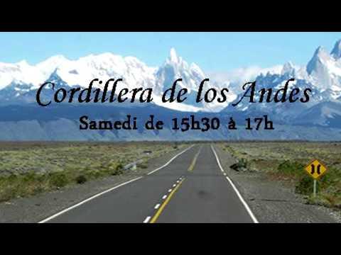 """ESCUCHA """"CORDILLERA DE LOS ANDES POR RADIO TSF98 NORMANDIE FRANCE"""