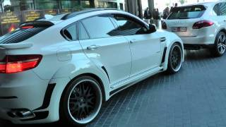 BMW X6 Hamann caught on Panasonic TM700