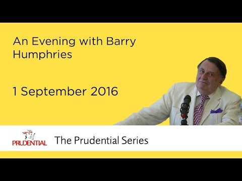 An Evening with Barry Humphries
