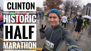 Running the Clinton Historic Half Marathon