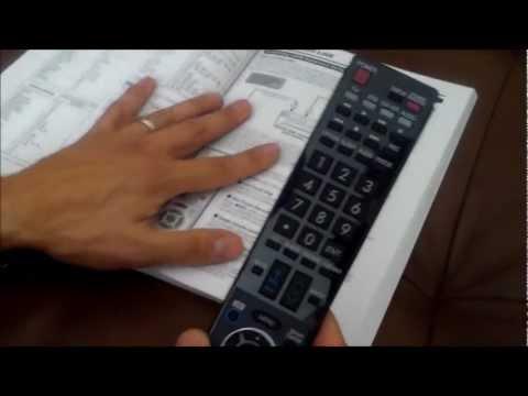HOW TO PROGRAM SHARP TV REMOTE