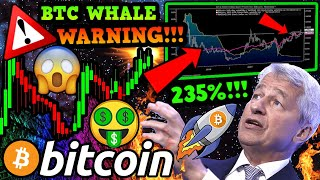 BITCOIN WHALE SELL-OFF!!!? DON'T BE FOOLED!!! BTC SETTING UP 235% MOVE!!!