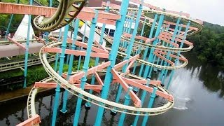 Dream Catcher front seat on-ride HD POV Bobbejaanland