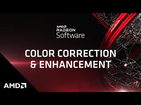 Radeon Software Color Deficiency Correction Feature