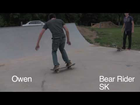 Battle For The Bearics: Owen Vs The Bear Rider