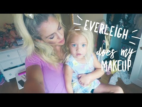 Everleigh Does My Makeup (4years old)