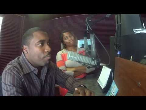 Radio Interview Mix 102.1 ASCENSION FASHION & POETRY Freeport, Bahamas