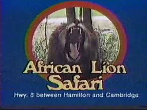 African Lion Safari 1987