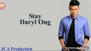 "Daryl Ong - ""STAY"" LYRICS BY JCA PRODUCTION (Adventures Tube)"