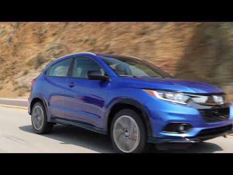 2019 Honda HR-V Sport - Aegean Blue Metallic