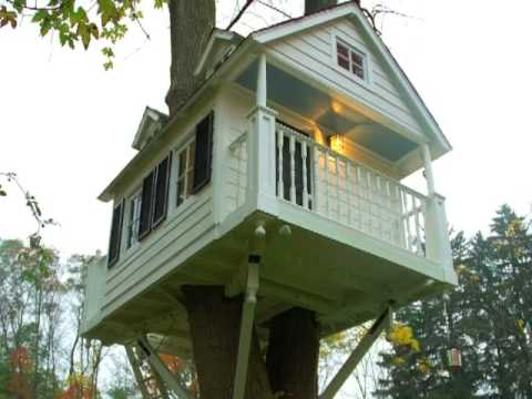 Charming Treehouse by Dan Benedict of Benedict August