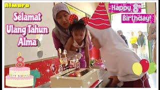 Download Mp3 Selamat Ulang Tahun Alma Ke 8 🎂 Happy Birthday Alma 8th Surprise Cake Birthday
