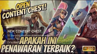 OPEN CONTENT CHEST! BEST DEAL?? Vainglory Indonesia